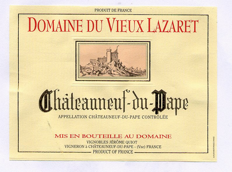 Вина Chateauneuf-du-Pape
