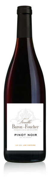 PINOT NOIR Rouge - Famille Baron Foucher - 2017