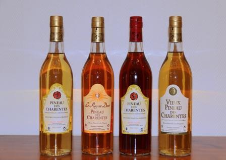 VIGNOBLE SIMONNOT, PINEAU DES CHARENTES BLANC ou ROSE TRADITION, AOC Pineau des Charentes, Blanc Liquoreux